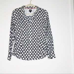 TALBOTS wrinkle resistance button down shirt